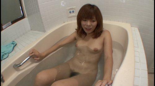 オナラ女のお風呂